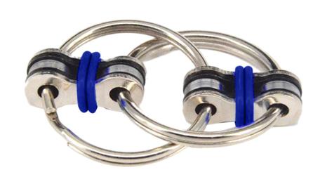 Fidget Ring Donker Blauw