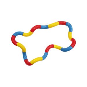 Fidget Twister Twist  rood geel blauw