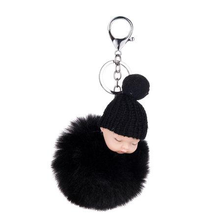 Baby Sleutelhanger/Tas hanger Zwart