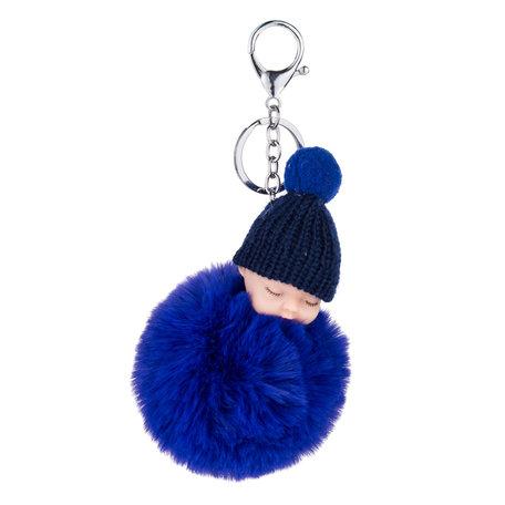 Baby Sleutelhanger/Tas hanger Blauw
