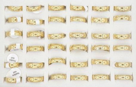 36 RVS Ringen - Verguld