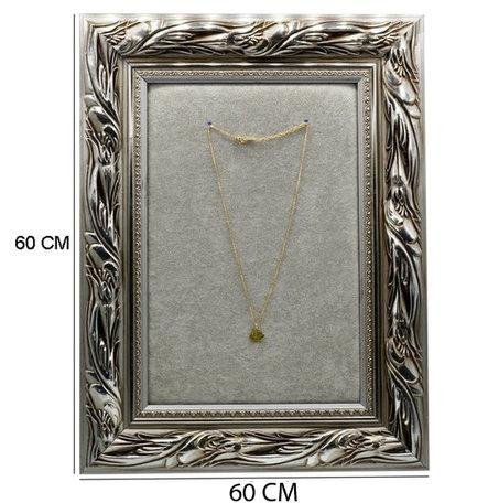 Display Frame met Gouden Scharnieren 60x60 cm