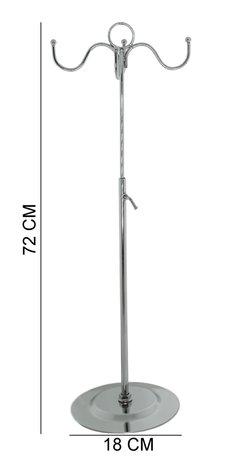 Tassen Hanger Display met 4 haken - 72 cm Hoog