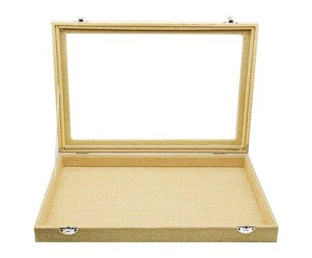 Sieraden Koffer Bamboe-Look 1 Vak