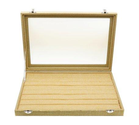 Ringen Koffer Bamboe-Look 100+ Vakken