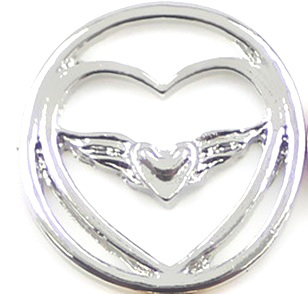 RVS Memory Locket Plaat