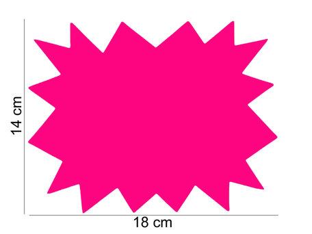 10 stuks Promotie Kaarten 18x14 cm