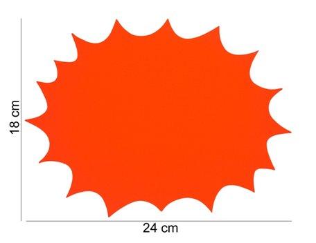 10 stuks Promotie Kaarten 24x18 cm