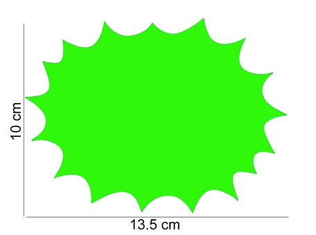 10 stuks Promotie Kaarten 13.5x10 cm