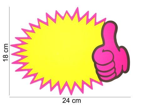 10 stuks Actie Kaarten 24x18 cm