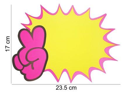 10 stuks Actie Kaarten 23.5x17cm