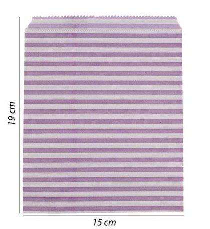 Luxe Papier tas 100 Stuks (15x19)