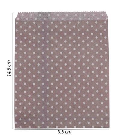 Luxe Papier tas 100 Stuks (9.5x14.5)