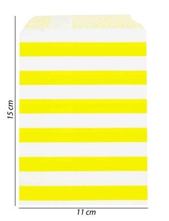 Luxe Papier tas 100 Stukst (11x15)