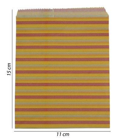 Luxe Papier tas 100 Stuks (11x15)