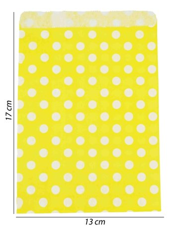 Luxe Papier tas 100 Stuks - 13x17