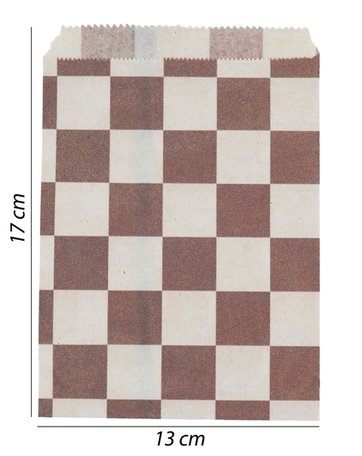 Luxe Papier tas 100 Stuks (13x17)