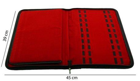 Armbanden & Horloges Map Rood Fluweel