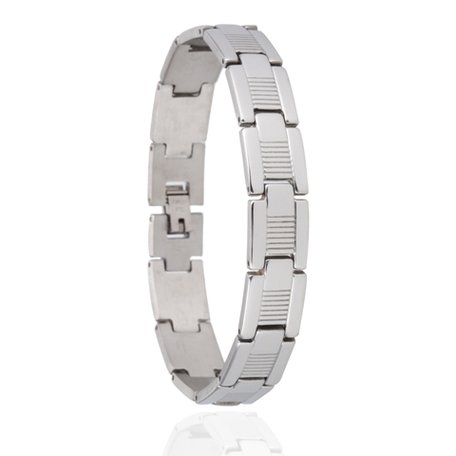 RVS HEREN ARMBAND STAINLESS STEEL
