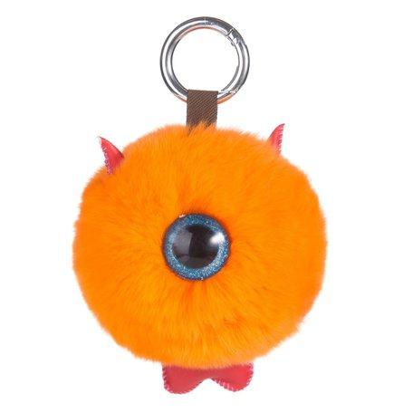 Sleutelhanger / Tashanger Cyclops 14cm Groot - Oranje