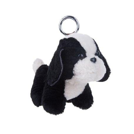 Puppy Sleutelhanger / Tashanger 16cm Groot - Zwart