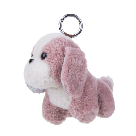 Puppy Sleutelhanger / Tashanger 16cm Groot - Roze