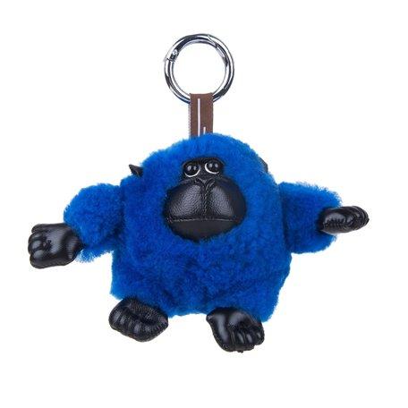 Sleutelhanger / Tashanger Baby Gorilla 15 cm Groot - Blauw