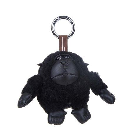 Sleutelhanger / Tashanger Baby Gorilla 15 cm Groot - Zwart