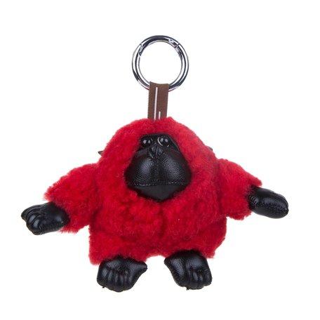 Sleutelhanger / Tashanger Baby Gorilla 15 cm Groot - Rood