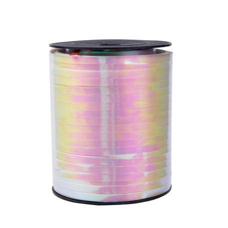 1 x Metallic krullint 5 mm x 500 mtr. Kleur Gem Lila