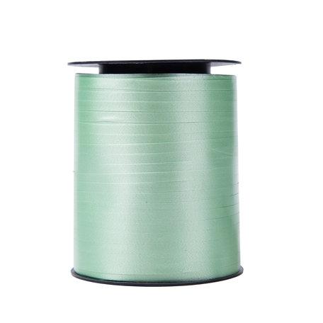 1 x Krullint 5 mm x 500 mtr., Kleur Mint Groen