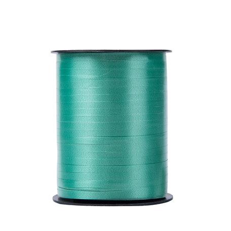 1 x Krullint 5 mm x 500 mtr., Kleur Blauw Groen