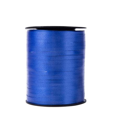 1 x Krullint 5 mm x 500 mtr., Kleur Blauw