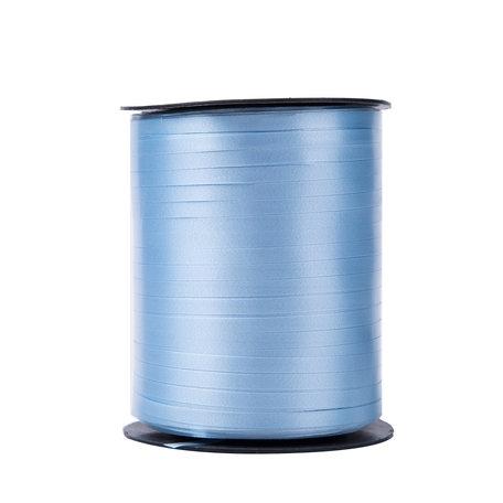 1 x Krullint 5 mm x 500 mtr., Kleur Licht Blauw