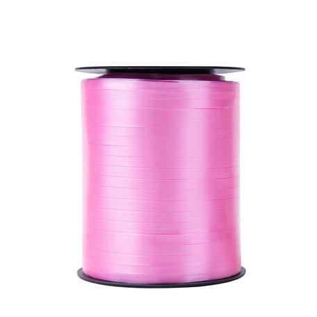 1 x Krullint 5 mm x 500 mtr., Kleur Rose