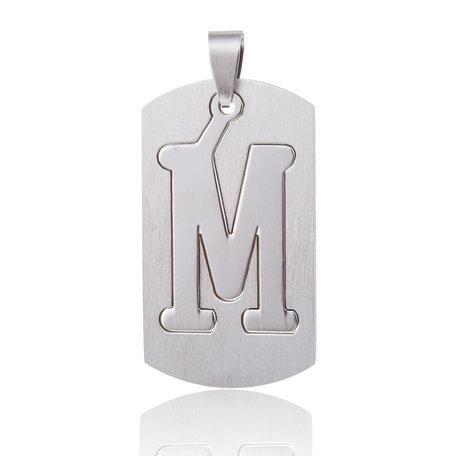 RVS Hanger Letter M STAINLESS STEEL