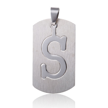 RVS Hanger Letter S STAINLESS STEEL