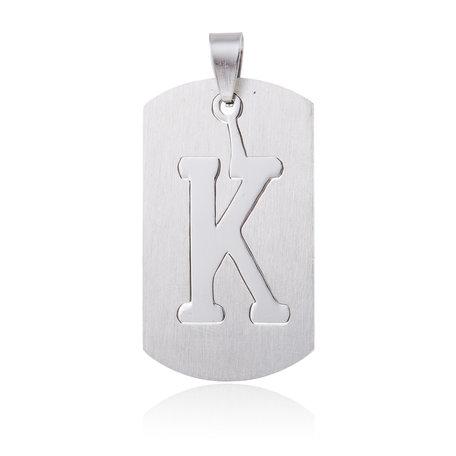 RVS Hanger Letter K STAINLESS STEEL