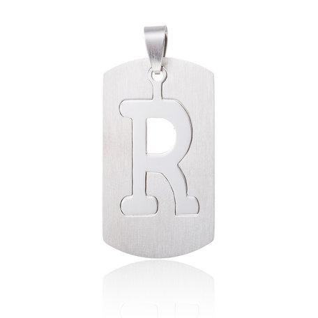 RVS Hanger Letter R STAINLESS STEEL