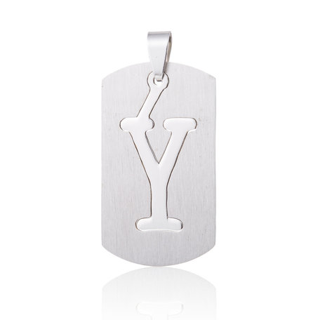 RVS Hanger Letter Y STAINLESS STEEL