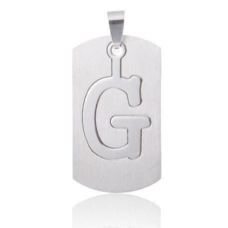 RVS Hanger Letter G STAINLESS STEEL