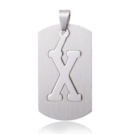 RVS Hanger Letter X STAINLESS STEEL