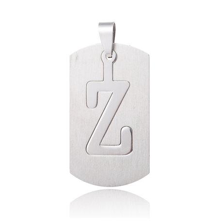 RVS Hanger Letter Z STAINLESS STEEL