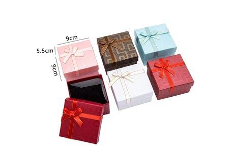6 stuks Verpakkings doosjes Armband of horloge 9x9x5.5 cm
