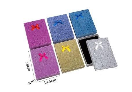 6 stuks Verpakkings doosjes ketting 18x13.5x4 cm