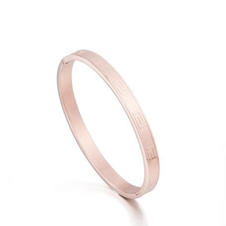 ARMBAND STAINLESS STEEL Kleur Rosé Goud