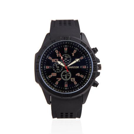 Navy Horloge - Rubberband