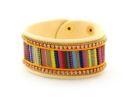 IBIZA Lederen Armband - Multi Color