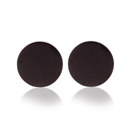 Ear Studs RVS Kleur Zwart