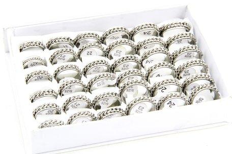 36 XXL RVS Ringen